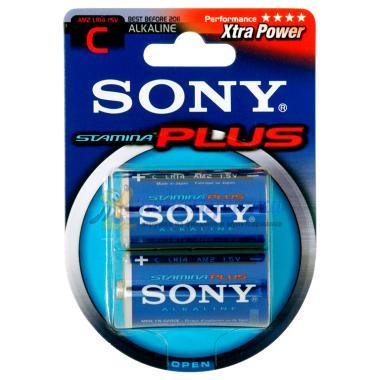 Батарейка LR14/AM2/C Sony Stamina Plus
