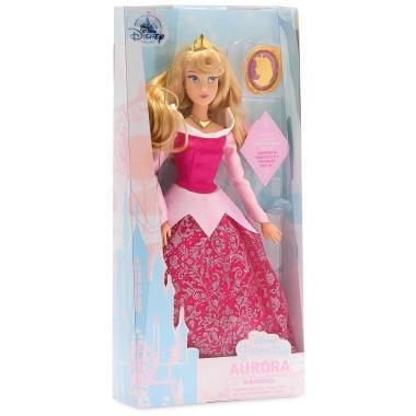 Кукла Принцесса Аврора с кулоном шарнирная Disney