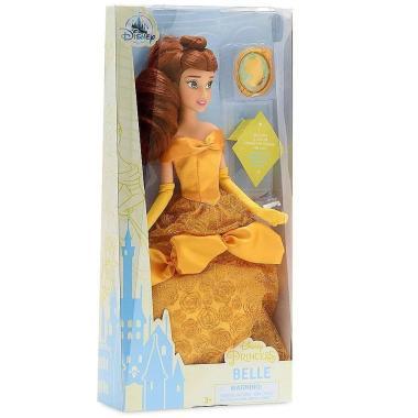 Кукла принцесса Белль с кулоном Красавица и Чудовище