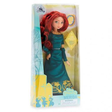 Кукла принцесса Мерида с кольцом Храбрая сердцем шарнирная Disney Store