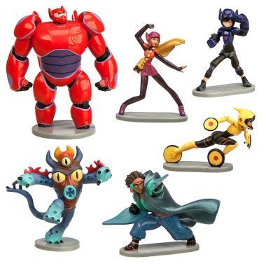 Набор Фигурок Город Героев 6 Персонажей 12 см Disney