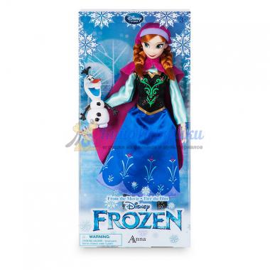 Кукла Анна Холодное сердце Дисней 31 см с Олафом
