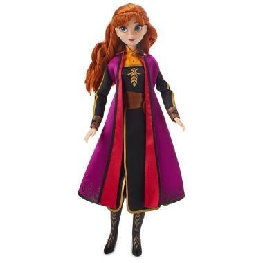 Поющая кукла Анна Холодное сердце 2 Disney 28 см