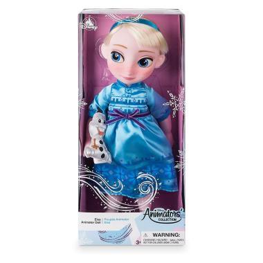Кукла Эльза в детстве Frozen Disney Animators' Collection