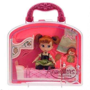 Набор кукла малышка Анна Холодное сердце в чемоданчике