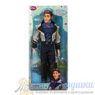 Кукла Ганс Холодное Сердце Disney Store 31 см