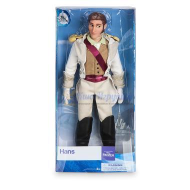 Кукла Ганс с коронации Холодное сердце 31 см Disney Store