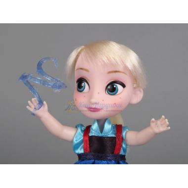 Мини кукла Эльза Холодное сердце в чемоданчике Дисней Аниматор