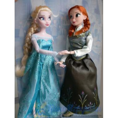 Набор Анна и Эльза на коньках Холодное Сердце Disney Store