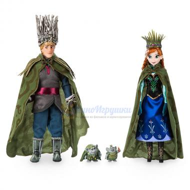 Набор кукол Анна Кристоф и тролли 31 см Холодное сердце Дисней