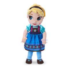 Плюшевая кукла Эльза в детстве 33 см Холодное сердце Disney Animators