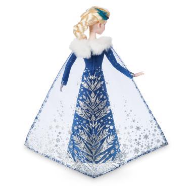 Поющая кукла Эльза Холодное сердце шарнирная Disney Store