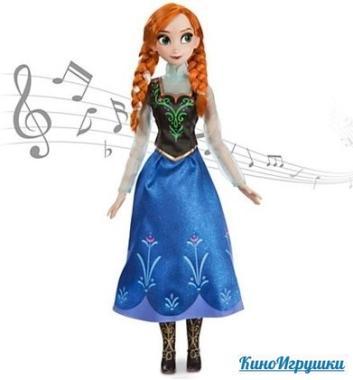 Поющая кукла Анна Холодное сердце 41 см от Дисней