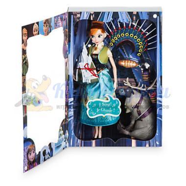 Поющая кукла Анна м/ф Холодное сердце набор Frozen Fever Disney