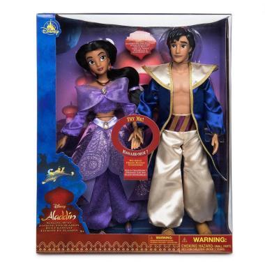 Набор поющих кукол Аладдин и Жасмин Disney