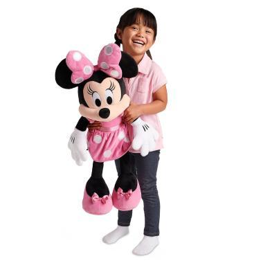 Большая мягкая игрушка Минни Маус в розовом 69 см Disney Store