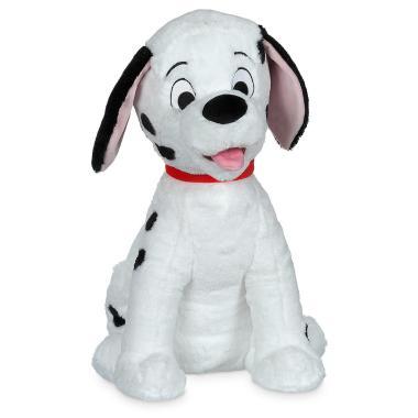 Большая Плюшевая игрушка щенок Лакки 101 далматинец 50 см