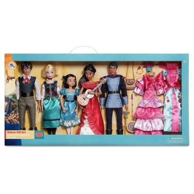 ДэЛюкс набор 5 кукол с аксессуарами Елена из Авалора Disney Store