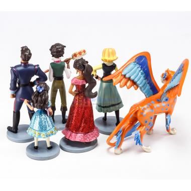 Игровой набор фигурок Елена из Авалора 6 персонажей Disney Store