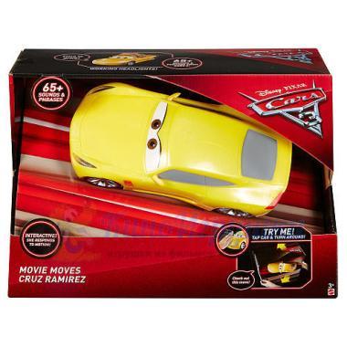 Интерактивная машинка Круз Рамирез свет-звук Тачки 3 Mattel