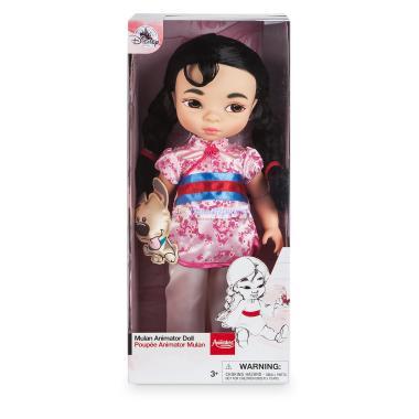 Кукла малышка Мулан в детстве 41 см Disney Store Animators 2017