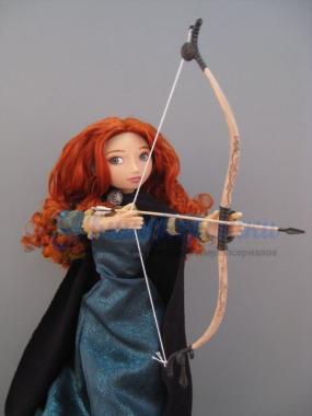 Кукла Мерида говорящая 41 см с луком и стрелами Disney Store 2013