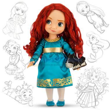 Кукла Мерида в детстве Храбрая сердцем 41 см Disney Animators