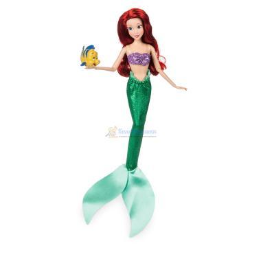 Русалочка Ариэль шарнирная кукла с питомцем Disney Store