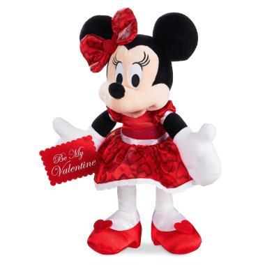 Мягкая игрушка Минни Маус День Святого Валентина Disney Store 2018