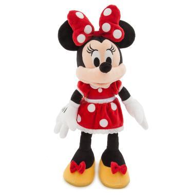 Мягкая игрушка Минни Маус в красном платье 46 см Disney Store