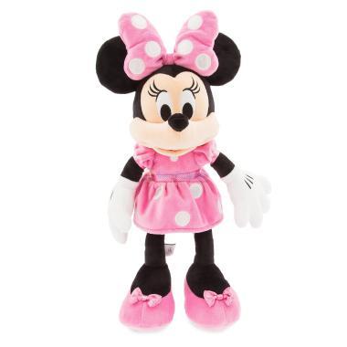 Мягкая игрушка Минни Маус в розовом 46 см Disney Store