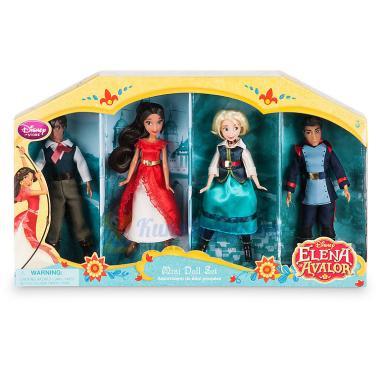 Набор Елена из Авалора 4 Мини куклы 13 см Disney store