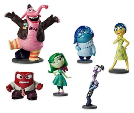 Набор фигурок Дэлюкс Головоломка  6 персонажей Disney Store