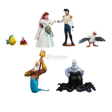 Набор фигурок Русалочка Ариэль 7 шт Disney Store