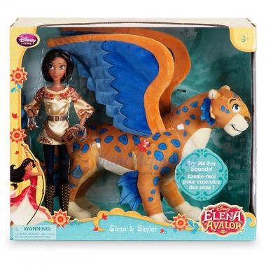 Набор Говорящий Скайлар и кукла Елена из Авалора Disney Store