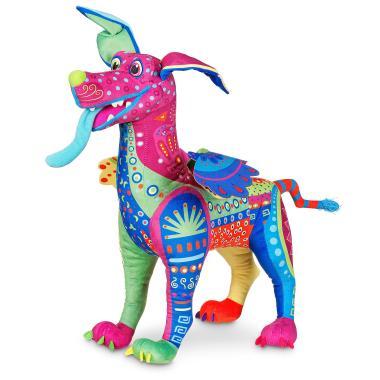 Плюшевая игрушка пес Данте Алебрихе 46 см Тайна Коко Disney Store