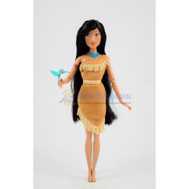 Покахонтас шарнирная кукла 31 см с питомцем Disney Store 2016