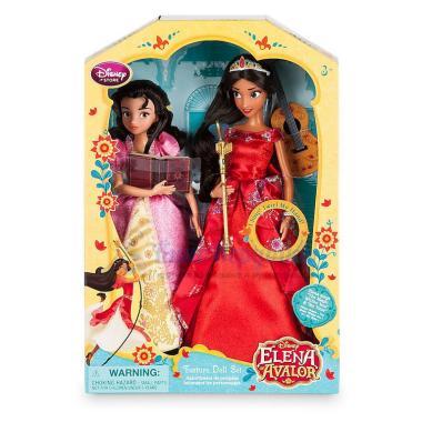 Поющая кукла Елена из Авалора с Изабель набор Дэлюкс Disney store
