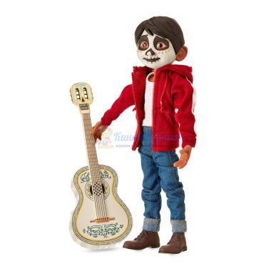 Поющая кукла Мигель Ривера набор с гитарой 19 см Тайна Коко Disney Store