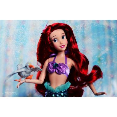 Кукла Русалочка Ариэль поющая Дисней 28 см