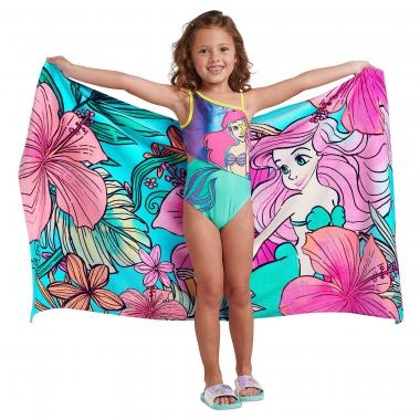Пляжное полотенце Русалочка Ариэль 150х74 см Disney