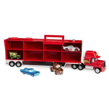 Говорящий грузовик Мак с прицепом и машинками Тачки Disney