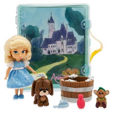 Игровой набор мини-кукла Золушка Дисней Аниматорс