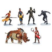 Набор фигурок Черная Пантера Marvel 6 персонажей Disney Store