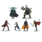 Набор фигурок Тор 3 Рагнарёк Marvel 6 персонажей Disney Store