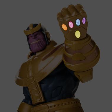 Говорящая фигурка Таноса 38 см Мстители Disney