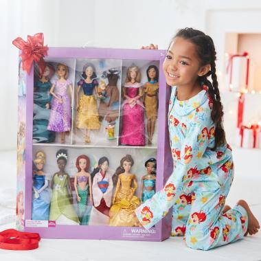 Подарочный набор кукол Принцессы Disney Store 11 шт
