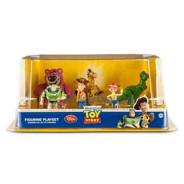 Набор фигурок 6 шт персонажей Истории игрушек Disney Store