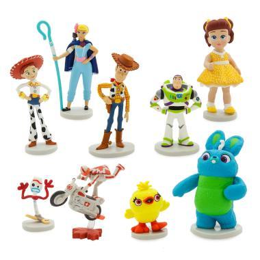 Набор фигурок История игрушек 4 Дэлюкс 9 персонажей