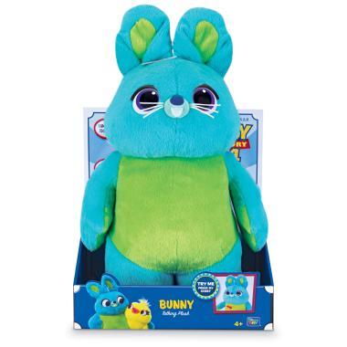Плюшевый заяц Банни История игрушек 4 говорящий 40 см